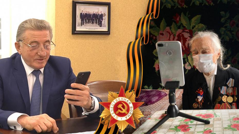 Сенатор Сергей Лукин поздравил ветеранов войны в районах Воронежской области