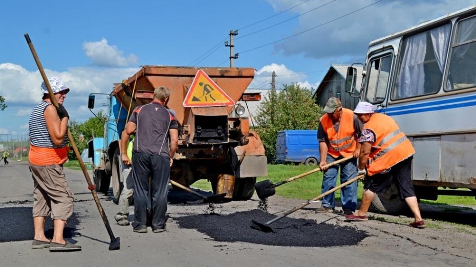 В Бутурлиновке приступили к ремонту дорог
