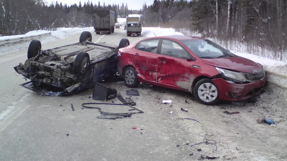14 жителей Воронежа и области вчера пострадали в автомобильных авариях