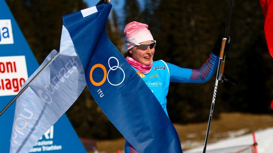 Борисоглебская лыжница стала чемпионкой мира по зимнему триатлону