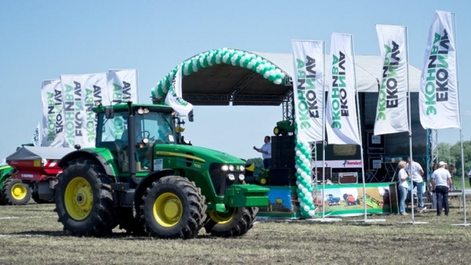 В Лискинском районе прошла международная выставка сельхозтехники