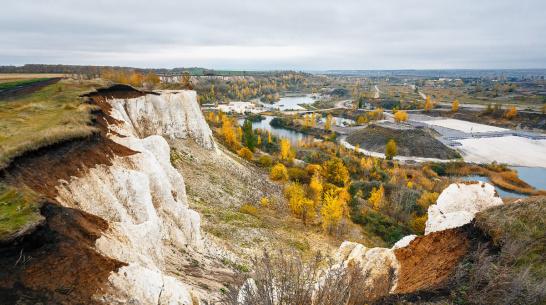 В 2022 году возле «Белого колодца» под Воронежем начнут добывать глину