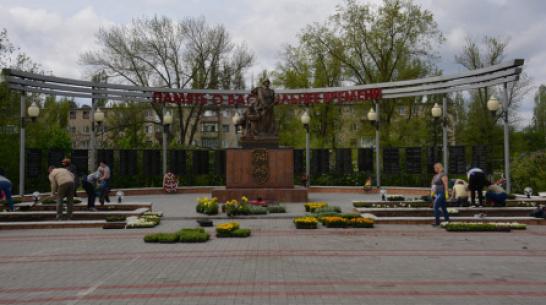 В Поворино к юбилею Победы высадили более 5 тыс цветов