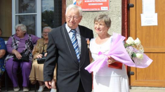 В Таловском районе сочетались браком 89-летний жених и 65-летняя невеста