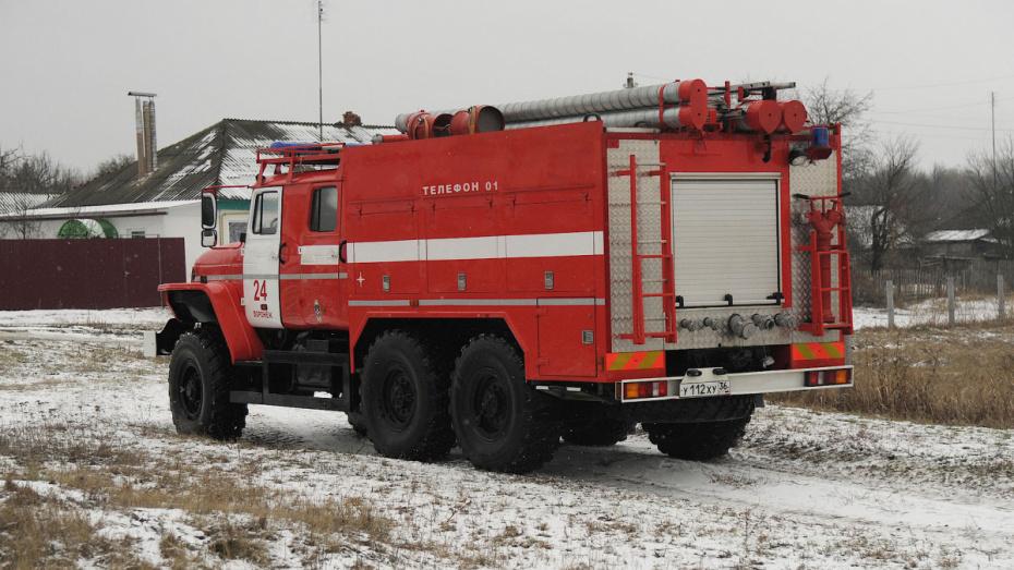 В Воронежской области при пожаре погиб 42-летний хозяин дома