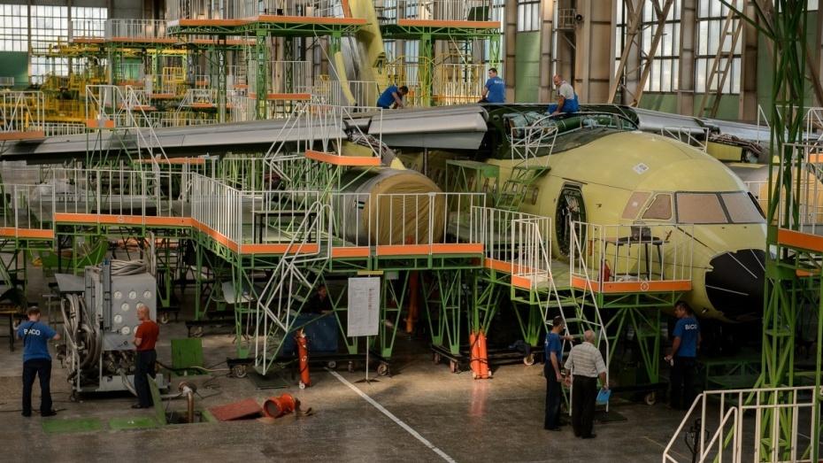 Каркас хвоста Ил-112 воронежского авиазавода прошел приемку Минобороны