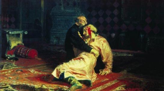 Воронежцу дали 2,5 года колонии за повреждение картины Репина