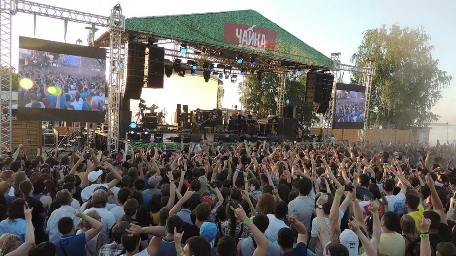 На рок-фестиваль «Чайка» в Воронеж привезли оборудование с «Вечернего Урганта»