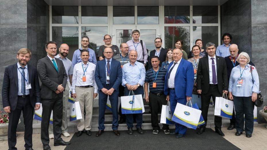Делегация из Евросоюза посетила молочный комбинат «Воронежский»