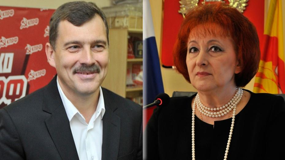 Бывшие кандидаты в мэры Воронежа обменяются судебными исками