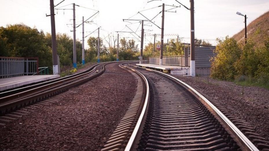 В Воронежской области поезд сбил 17-летнего парня