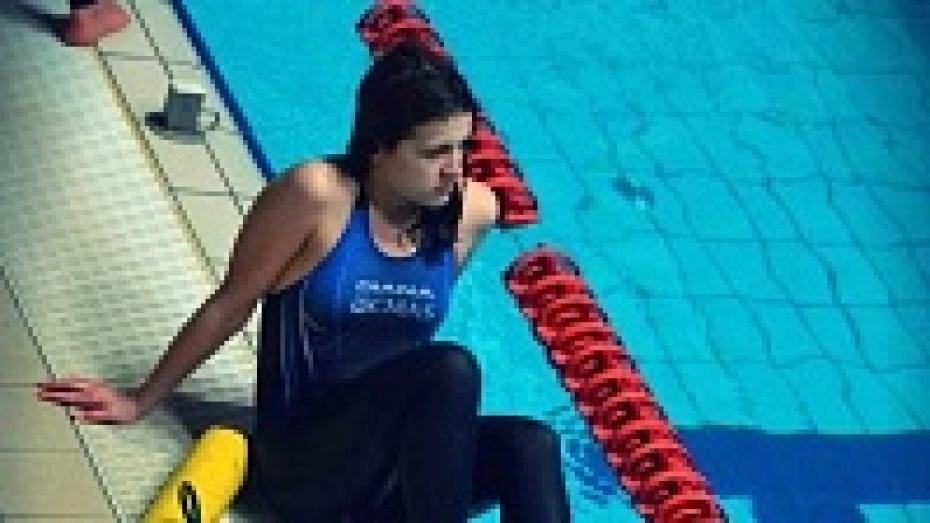 Воронежская спортсменка завоевала три золотых медали соревнований по подводному спорту