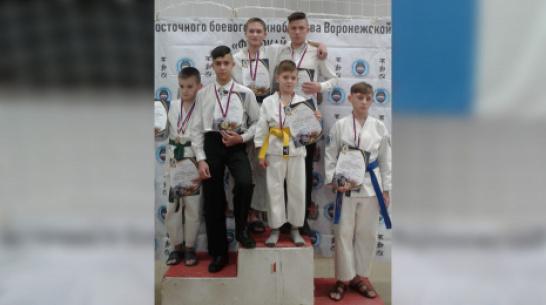 Верхнехавские каратисты завоевали 5 золотых медалей на областном турнире