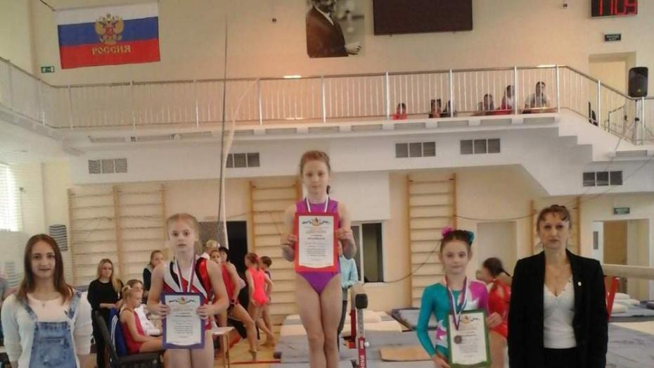 Бобровская спортсменка выиграла «золото» в чемпионате области по гимнастике
