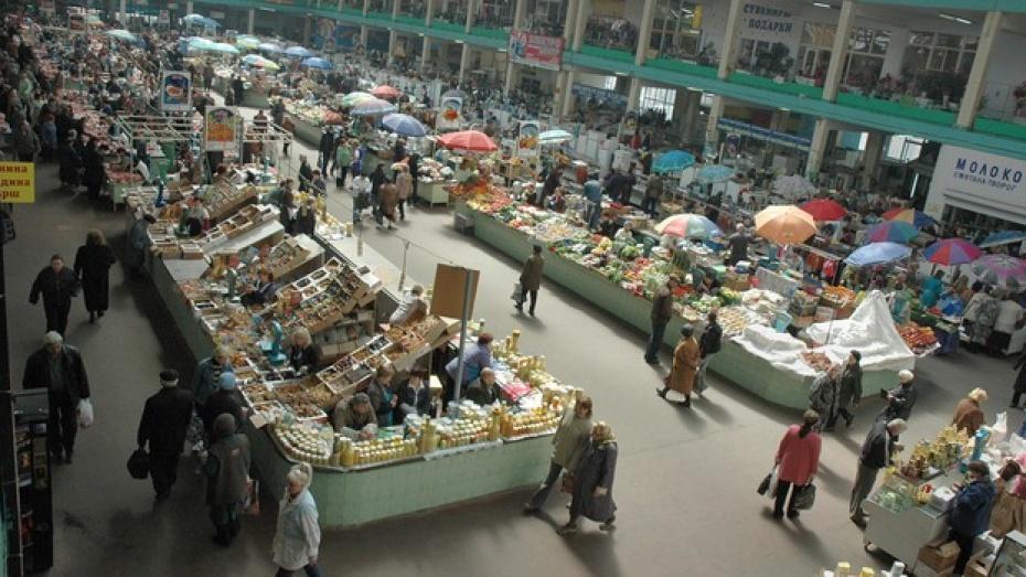 Торговцы мешают подготовке к реконструкции Центрального рынка