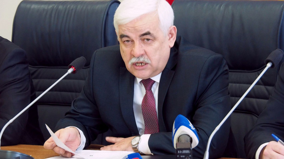 Юрий Агибалов стал зампредседателя антикоррупционной комиссии Воронежской области