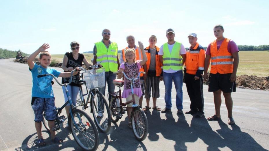 Новую дорогу открыли в Лискинском районе