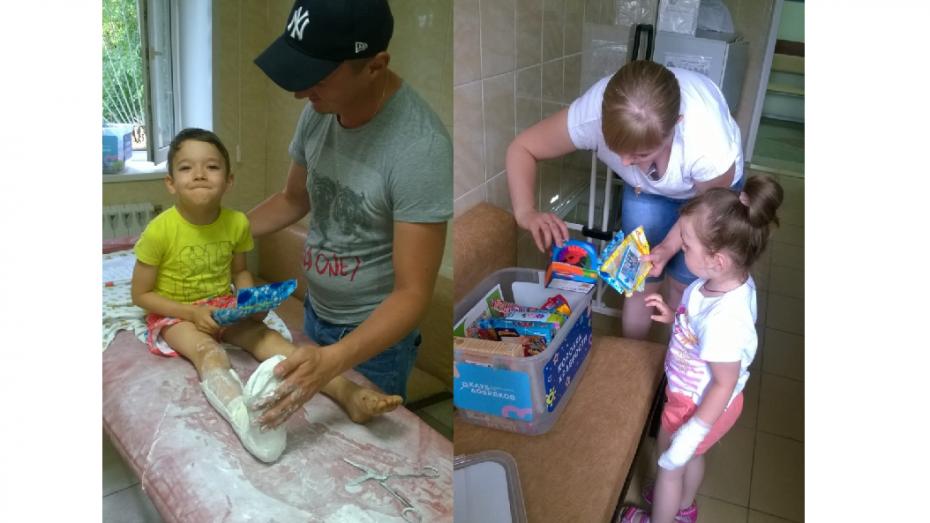 Воронежцам предложили принести детские игрушки для «коробки храбрости» в больницу