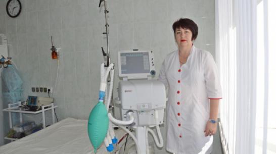 В Эртильской районной больнице появился аппарат искусственной вентиляции легких