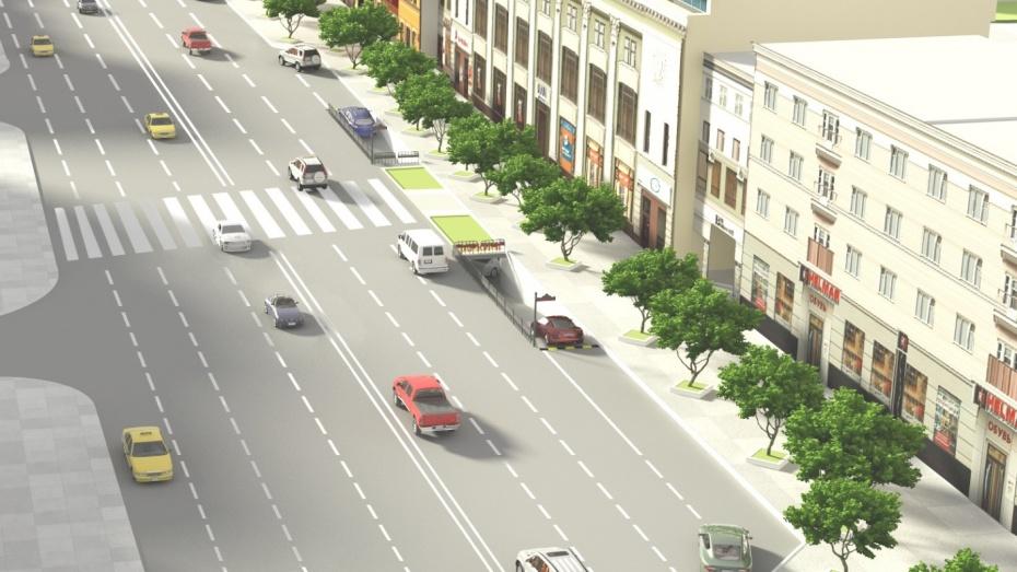 На проспекте Революции в Воронеже появится парковка на 500 машин