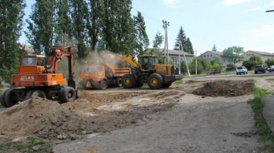 В поселке Подгоренский двор многоквартирных домов сделают комфортным