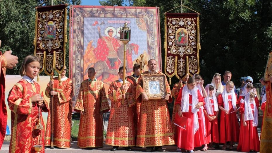 В Борисоглебске стартовал Всероссийский фестиваль «Во славу Бориса и Глеба»