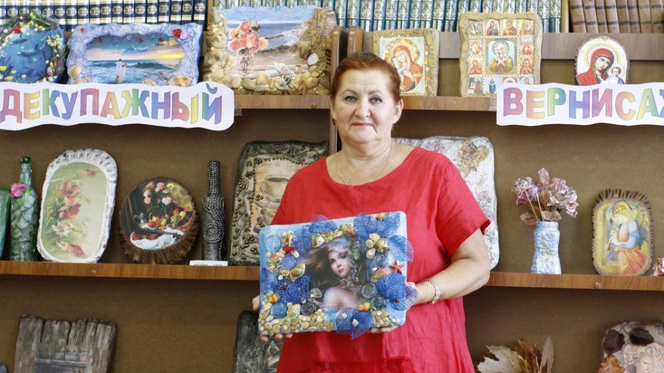 Аннинцев пригласили на выставку «Декупажный вернисаж Татьяны Чимы»