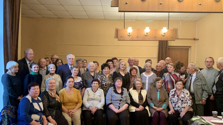 Для ветеранов Воронежэнерго устроили праздник в честь Дня пожилых людей