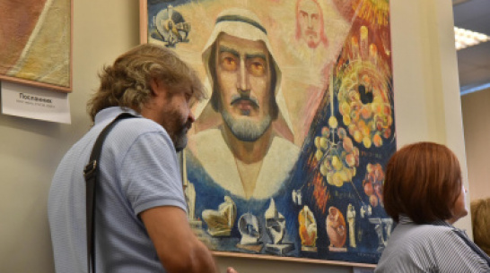 В Воронеже открылась выставка религиозной живописи автора «Памятника Славы»