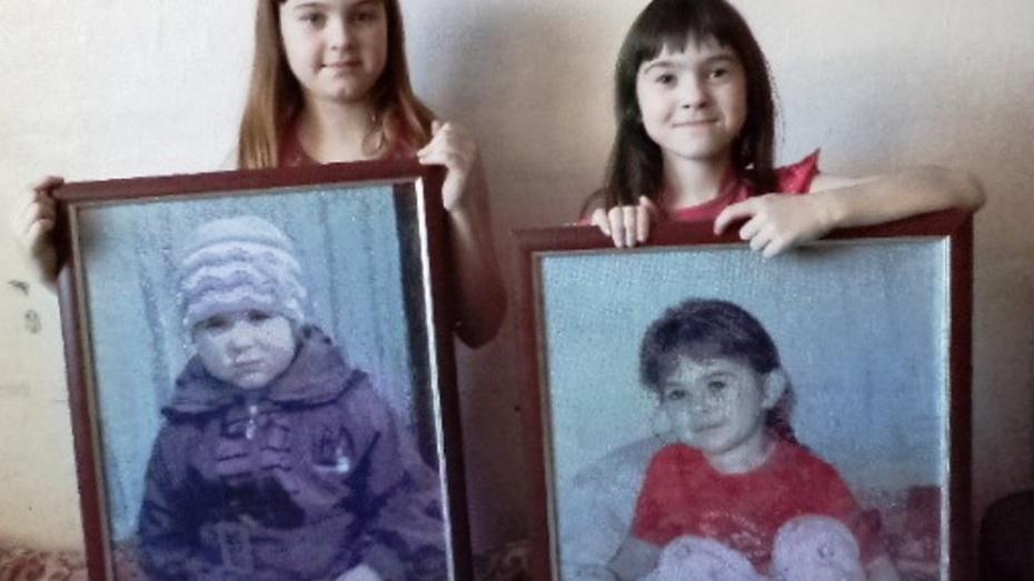 Жительница Репьевки Тамара Савенко вышила портреты внучек