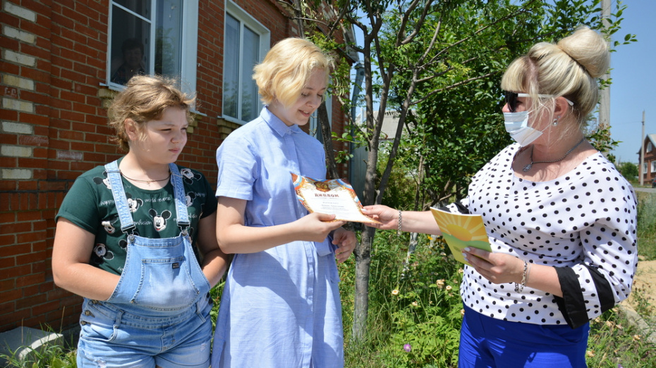 Острогожская школьница стала лауреатом областного конкурса «Семья, рожденная из сердца»