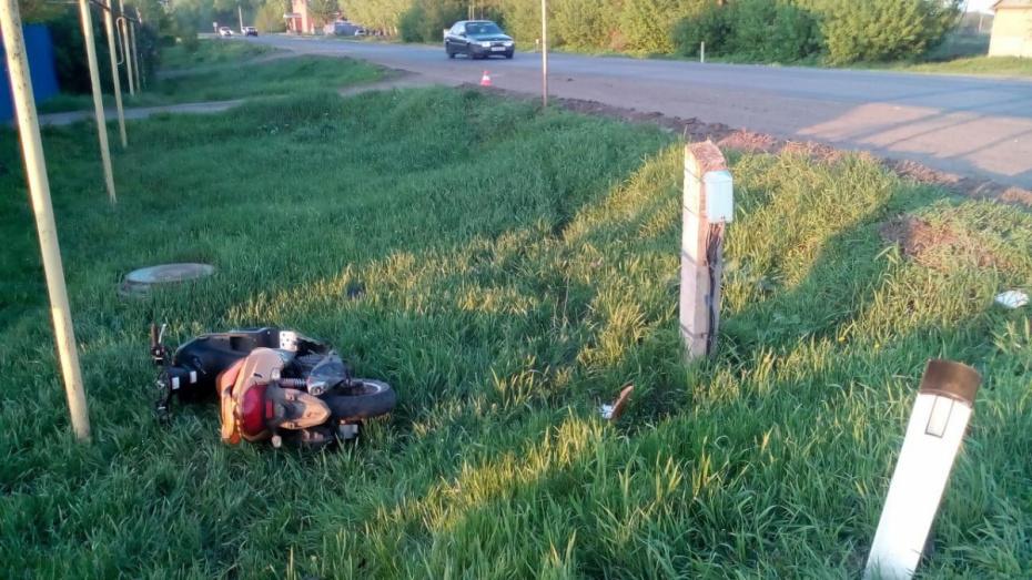 В павловском селе Елизаветовка в ДТП погиб 21-летний скутерист