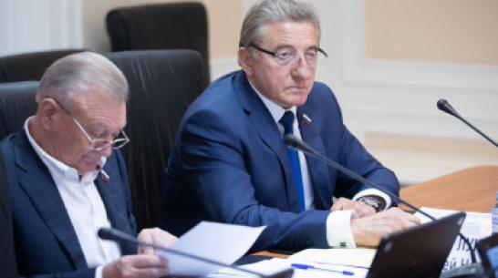 Воронежский сенатор озвучил предложения по улучшению бизнес-климата в строительстве