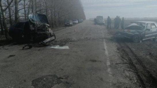 В Воронежской области пьяный водитель сбежал с места ДТП