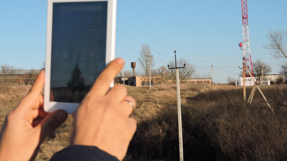 В подгоренском селе Саприно появилась вышка сотовой связи