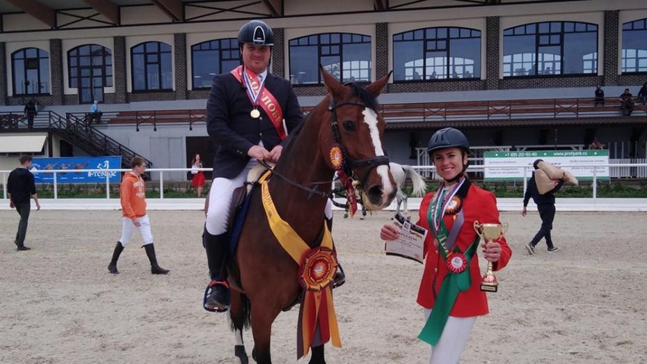 Павловчанка выиграла «бронзу» на всероссийских соревнованиях по конкуру
