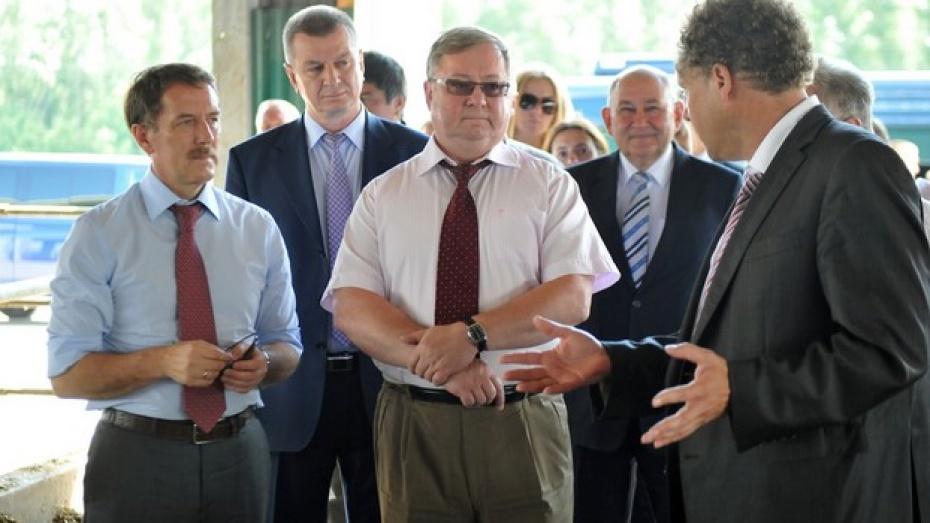 Председатель Счетной палаты РФ Сергей Степашин поcетил Воронежскую область с рабочей поездкой