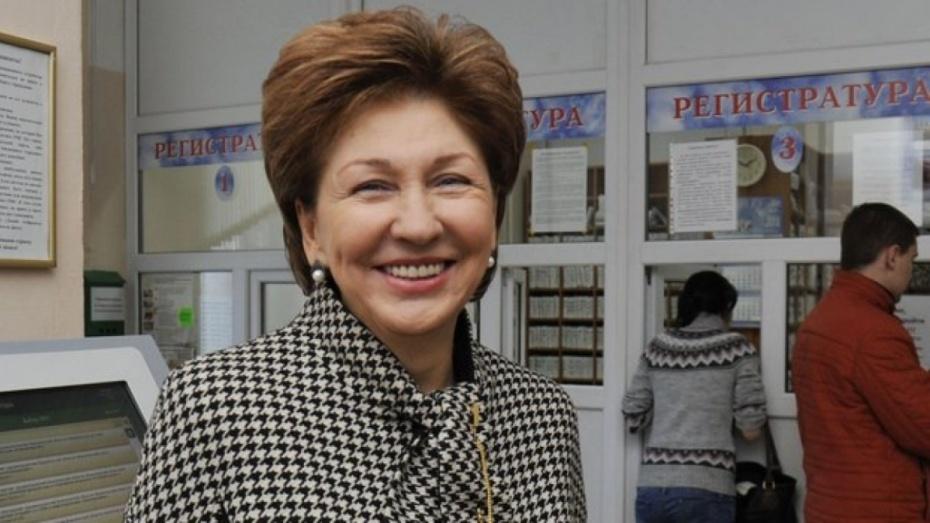 Воронежский вице-спикер Совета Федерации вошла в ТОП-25 медиа-рейтинга сенаторов