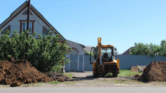 В Таловой построят канализационный коллектор для микрорайона Новый рынок