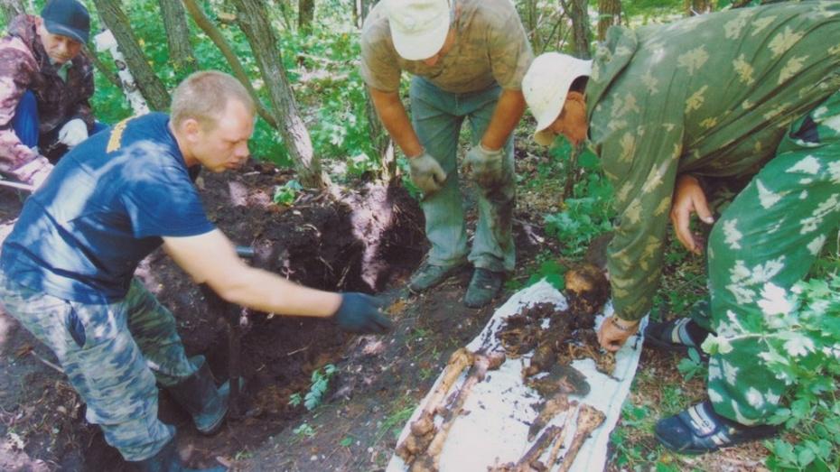 В богучарском селе Красногоровка нашли останки шести красноармейцев