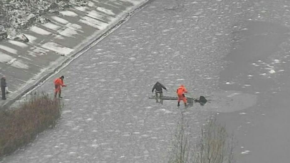 НаВоронежском водохранилище спасли тонувшего рыбака