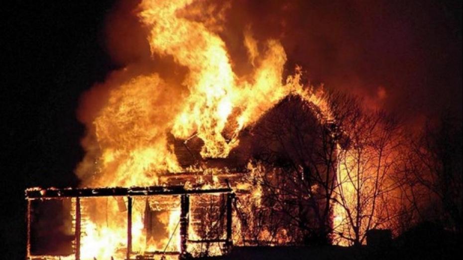 В Воронежской области при пожаре погиб 59-летний мужчина