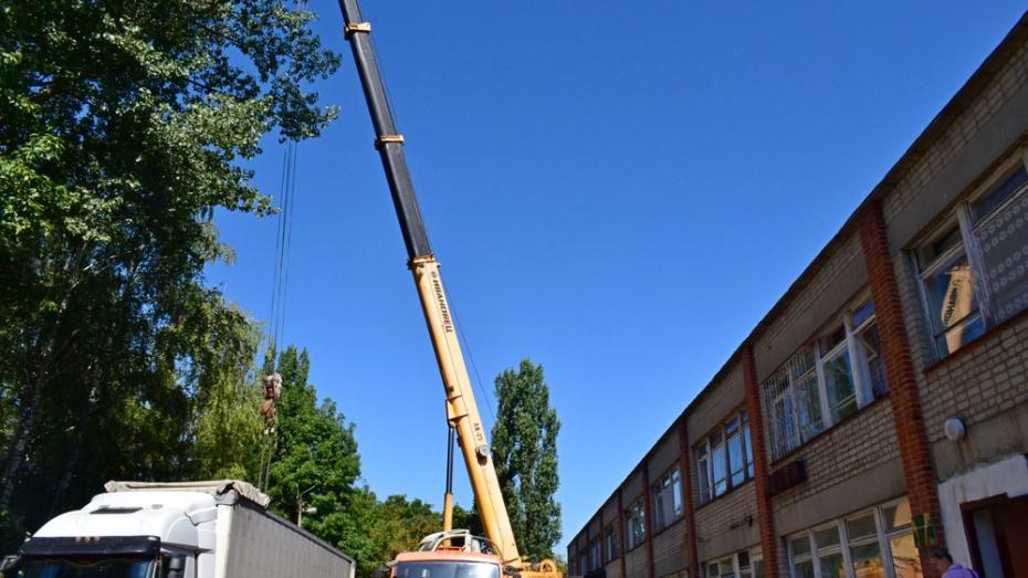 В Грибановской поликлинике впервые за 38 лет капитально отремонтируют крышу