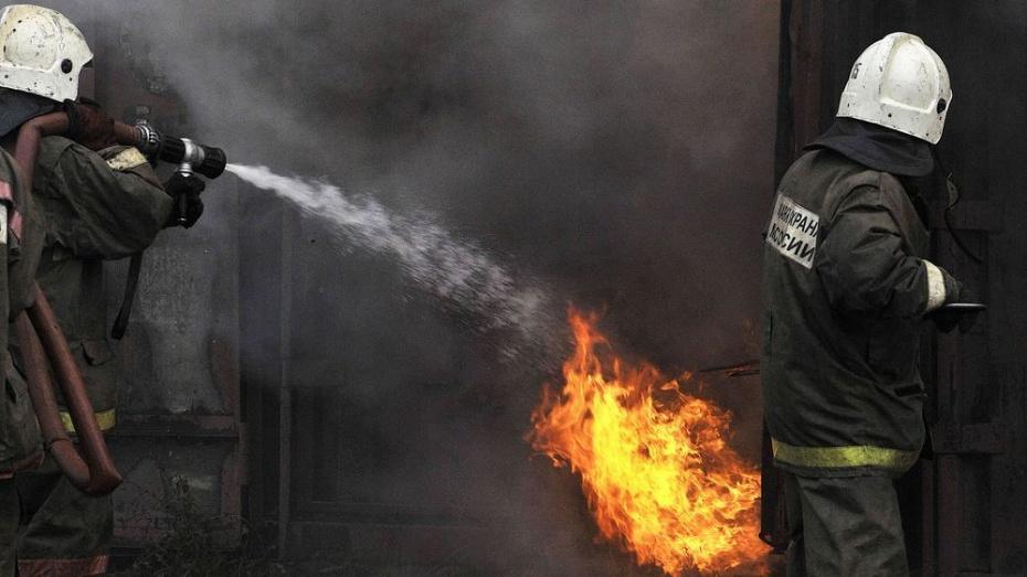 В Эртильском районе сгорел саманный дом: погиб 52-летний мужчина
