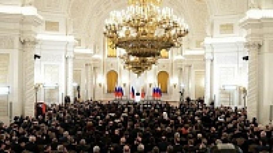 Алексей Гордеев стал участником церемонии воссоединения Крыма с Россией
