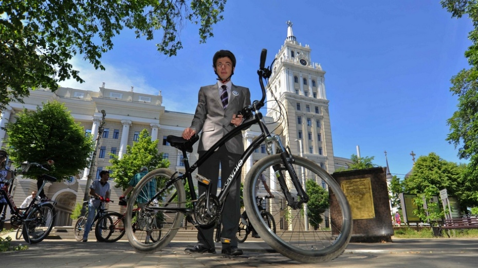 В Воронеже объявили неделю «на велосипеде – на работу»