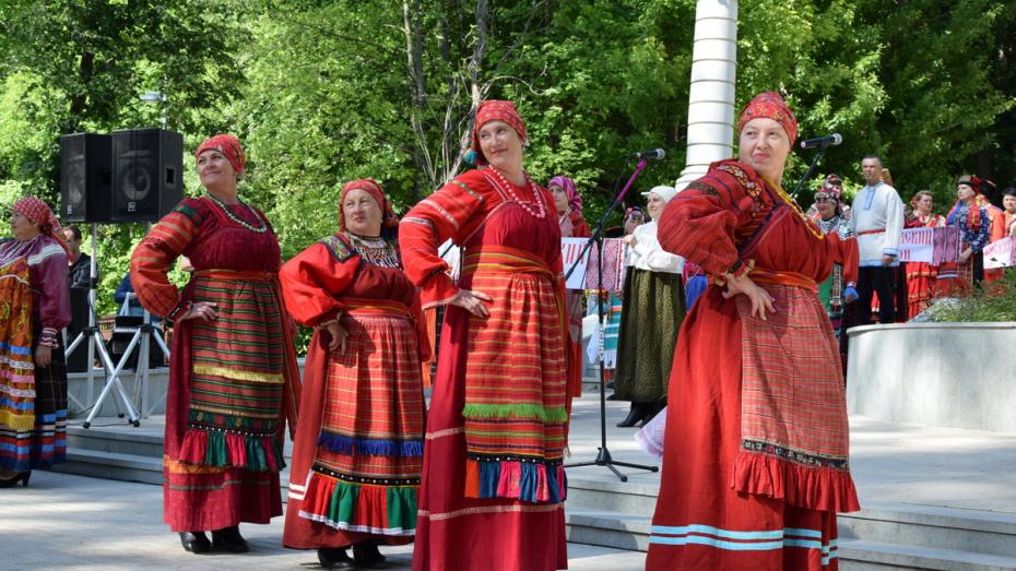 «Фольклорная весна в Воронеже» наступит 26 мая