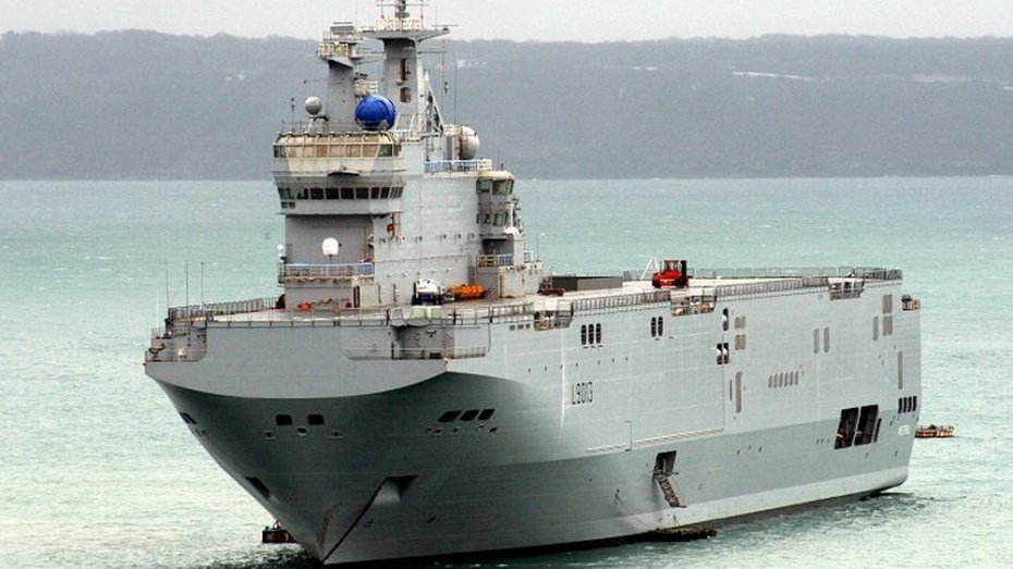 Франция предложила России 785 млн евро за «Мистрали»