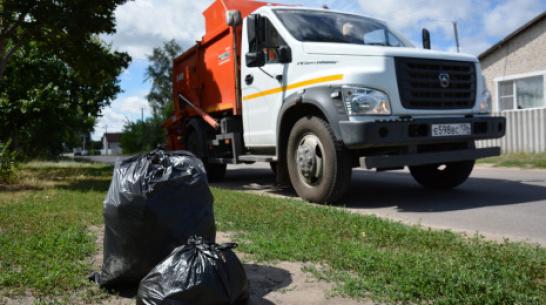 В Острогожском районе вывоз мусора во всех поселениях организуют к сентябрю