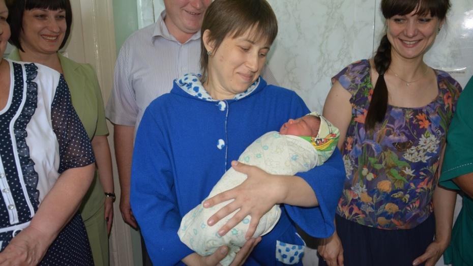 В День города в Поворино родилась новая жительница